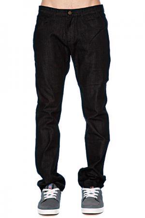 Джинсы прямые мужские классические  Manorexic Jean 3 Black Enjoi. Цвет: черный