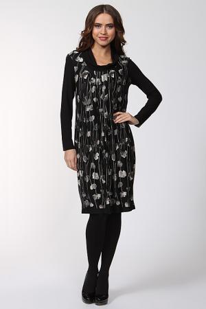 Платье Gouache. Цвет: черный