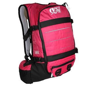 Рюкзак туристический  Spine Backpack Pink Picture Organic. Цвет: черный,розовый