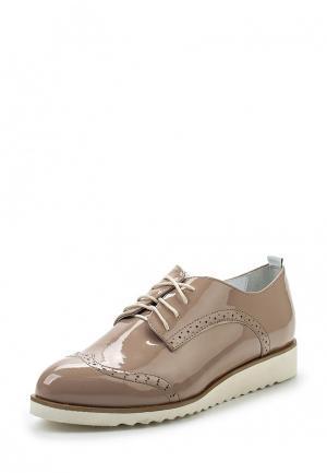 Ботинки Shoobootique. Цвет: бежевый