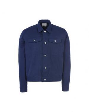 Куртка WOOD. Цвет: темно-синий