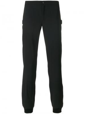 Спортивные брюки с застежкой на пуговицу Les Hommes. Цвет: чёрный