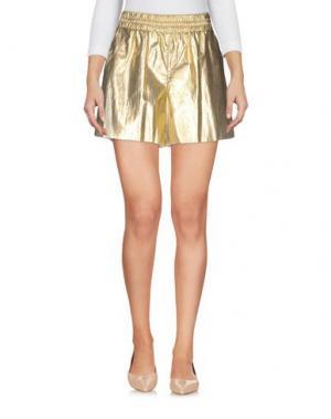 Повседневные шорты CARLA G.. Цвет: золотистый
