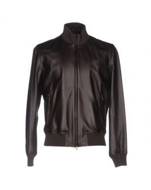 Куртка NARDELLI. Цвет: темно-коричневый