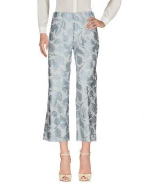 Повседневные брюки DANIELA PANCHERI. Цвет: светло-серый