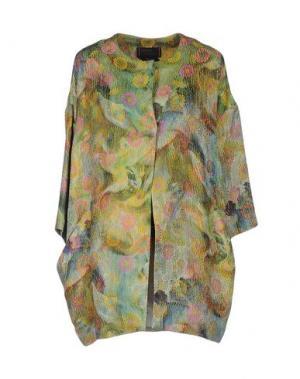 Легкое пальто FEMME by MICHELE ROSSI. Цвет: зеленый