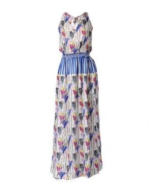Длинное платье GARAGE NOUVEAU. Цвет: белый