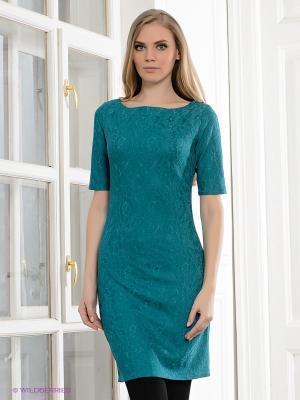 Платье Hammond. Цвет: зеленый, бирюзовый