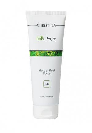 Био-фито-пилинг для всех типов кожи Christina. Цвет: белый