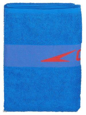 Полотенце Speedo. Цвет: голубой, красный