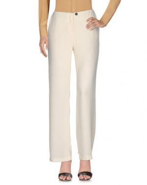 Повседневные брюки TROU AUX BICHES. Цвет: слоновая кость