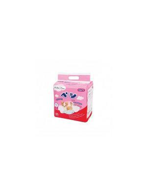 Пеленки для домашних животных NekiZoo S, 25 шт./упак Maneki. Цвет: розовый