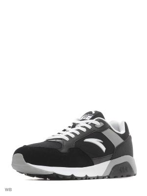 Кроссовки ANTA. Цвет: черный, белый, серый