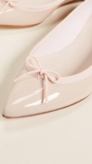 Brigitte Pointed Toe Ballet Flats Repetto