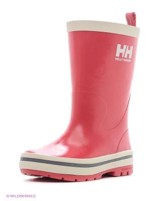 Резиновые сапоги Helly Hansen. Цвет: розовый