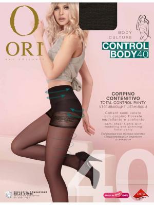 Колготки ORI Control Body 40 den. Цвет: темно-коричневый