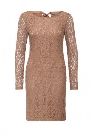 Платье Gaudi. Цвет: бежевый