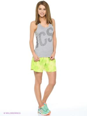 Майка GRAPHIC TANK TOP ASICS. Цвет: серый