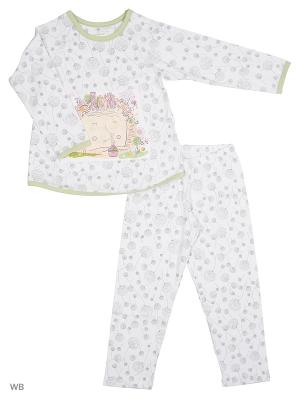 Пижама Ritta Romani. Цвет: светло-серый, белый