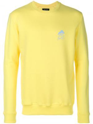 Space Art sweatshirt  Howlin Howlin'. Цвет: жёлтый и оранжевый
