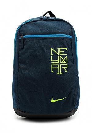 Рюкзак Nike. Цвет: синий
