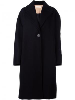 Свободное пальто Ssheena. Цвет: чёрный