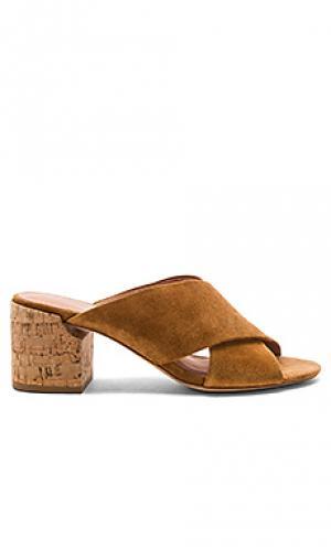 Туфли на каблуке rhoda Sigerson Morrison. Цвет: коньяк