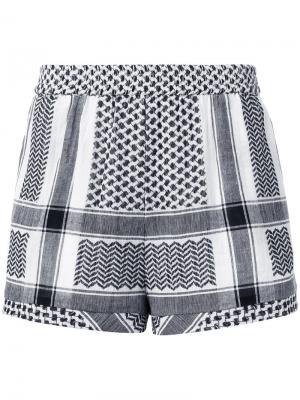 Striped shorts Cecilie Copenhagen. Цвет: чёрный