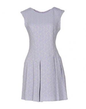 Короткое платье KATE. Цвет: сиреневый