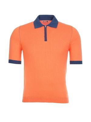 Поло Carnevale (Италия) 1227/05567. Цвет: оранжевый