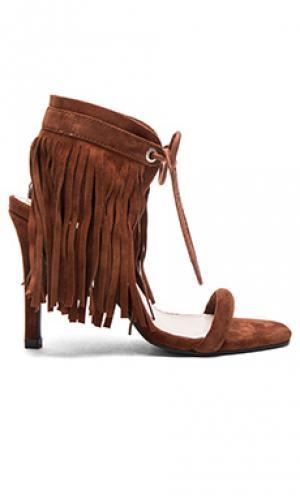 Туфли на каблуке mavin Sol Sana. Цвет: коричневый