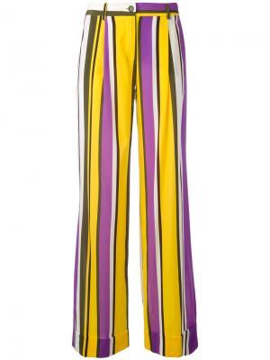 Расклешенные брюки Sweden P.A.R.O.S.H.. Цвет: многоцветный