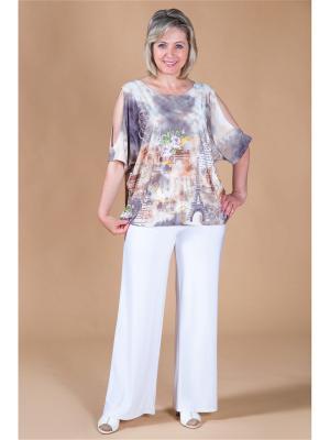 Блуза Милада. Цвет: бежевый