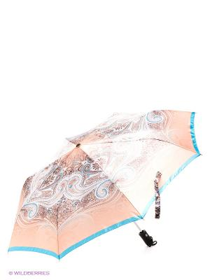 Зонт Eleganzza. Цвет: бежевый, голубой