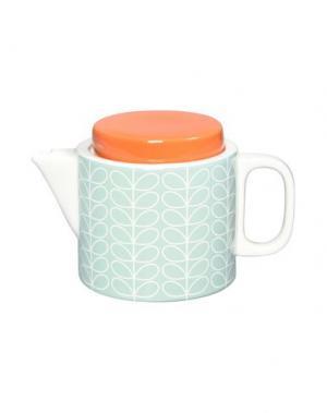 Для чая и кофе ORLA KIELY. Цвет: светло-зеленый
