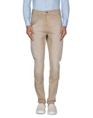 Повседневные брюки QUINTESSENCE. Цвет: песочный
