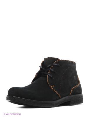 Ботинки Marko. Цвет: черный, оранжевый