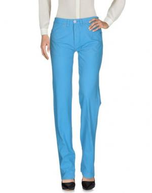 Повседневные брюки PEUTEREY. Цвет: лазурный