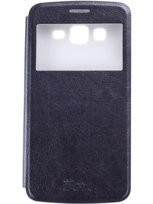 Чехол skinBOX Lux AW Samsung G7102 Galaxy Grand II duos.. Цвет: черный