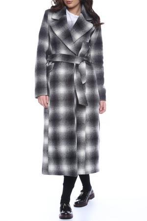 Пальто Emma Monti. Цвет: black and white
