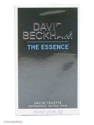 Туалетная вода David Beckham The Essence. Цвет: прозрачный