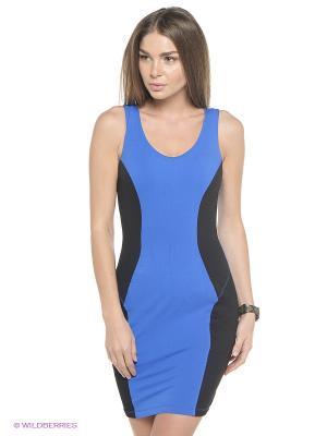 Платье push-up Freddy. Цвет: синий, черный
