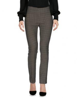 Повседневные брюки FRANCESCA FERRANTE. Цвет: зеленый-милитари
