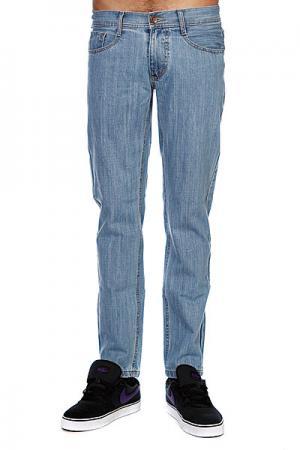 Джинсы прямые мужские классические  Mdp 013 Blue Trailhead. Цвет: голубой