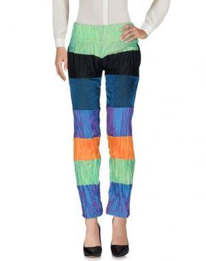 Повседневные брюки MARTINA SPETLOVA. Цвет: синий
