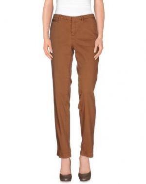 Повседневные брюки WOOLRICH. Цвет: коричневый