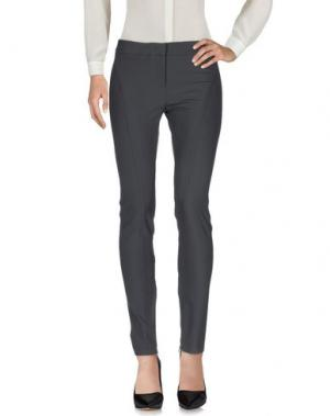 Повседневные брюки CARLA MONTANARINI. Цвет: серый