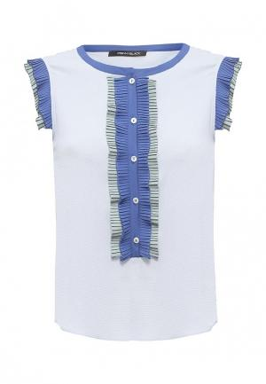 Блуза Pennyblack. Цвет: голубой
