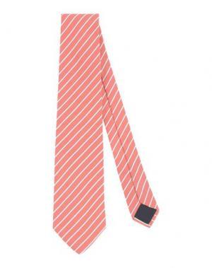 Галстук LES COPAINS. Цвет: лососево-розовый