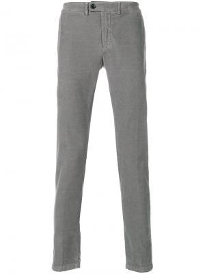 Вельветовые брюки Department 5. Цвет: серый